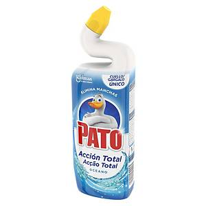 Detergente desinfetante WC Pato 5 em 1 - 750 ml - aroma oceano