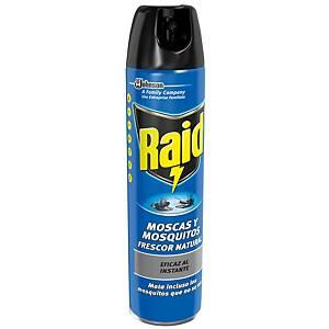 Insecticida en spray Raid moscas y mosquitos - 600 ml