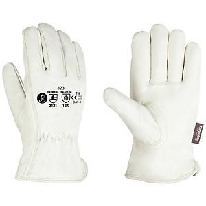 Par de guantes de cuero Jomiba GFR 823 - talla 9
