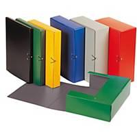 Carpeta de proyectos Karman - folio - cartón - lomo 50 mm - negro