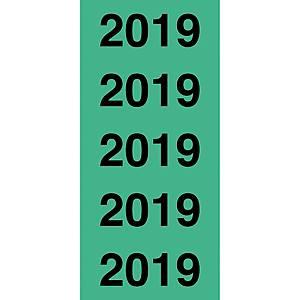 Inhaltsschilder Avery Zweckform 43-219, 2019, 60x26mm (LxB), grün, 100 Stück