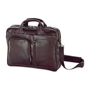 Serviette Business Gabol Shadow, 2 compartiments, 42x31x9 cm, marron