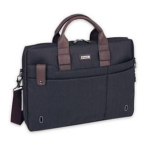 Serviette Business Gabol Master, 1 compartiment, 42x31x8 cm, gris