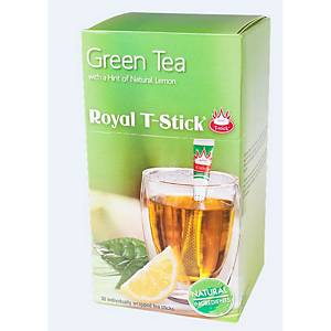 Royal T-Stick® groene thee citroen, doos van 30 sticks
