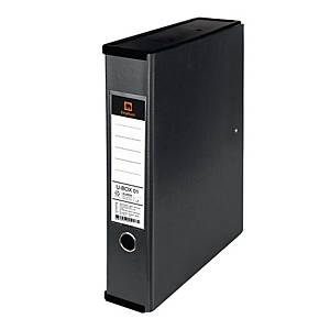 ELEPHANT Duraplast Utility Box File Black