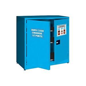 /Armadio sicurezza basso Carvel per liquidi chimici acidi e/o basici blu