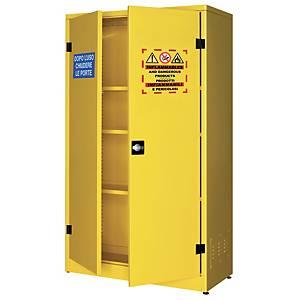 /Armadio di sicurezza alto Carvel per liquidi infiammabili giallo