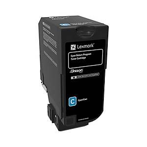 /Toner laser Lexmark 74C20C0 3K ciano