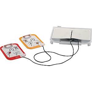 Elettrodo per defibrillatore Lifepak CR2, 2 pzi, arancione/rosso