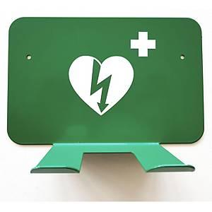 Wandhalterung für Defibrillator Lifepak CR2, metall, weiss