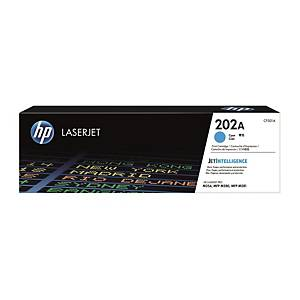 HP CF501A LaserJet Toner Cartridge (202A) - Cyan