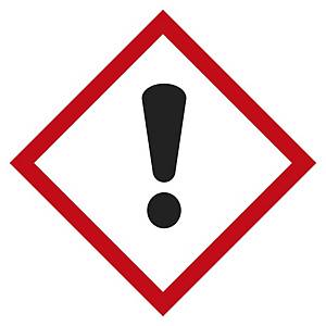 Etichetta segnaletica tossicità acuta categoria 4 - 20 x 20 mm - conf. 48