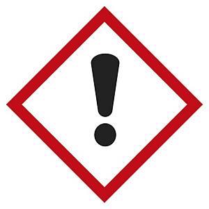 Etichetta segnaletica tossicità acuta categoria 4 - 100 x 100 mm - conf. 5