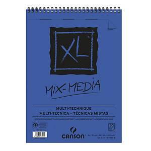 Album disegno Canson Mix Media 30 fogli A4 300g/mq