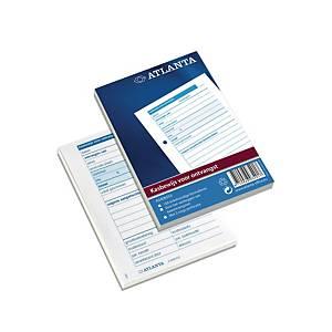 Jalema Atlanta bedrijfsformulier 5406-033 kasbewijs ontvangen, 100 vellen