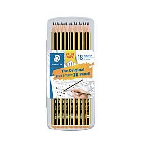 Staedtler Noris 120 2B Pencil - Box of 18
