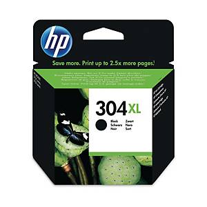HP 304XL N9K08AE mustesuihkupatruuna musta