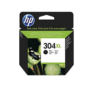 HP 304XL High Yield Black Original Ink Cartridge (N9K08AE)