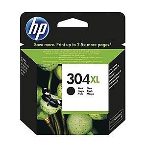 Cartuccia inkjet HP N9K08AE 304XL 300 pag nero