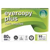 Recyklovaný papír Evercopy Plus, A4, 80 g/m², bílý, 5 x 500 listů
