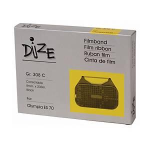 DIZE ผ้าหมึกพิมพ์ดีดไฟฟ้า รุ่น 308C