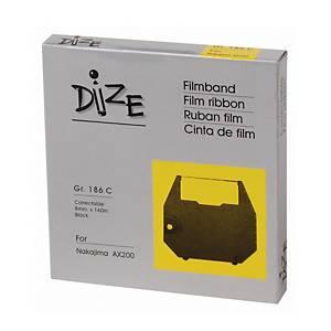 DIZE ผ้าหมึกพิมพ์ดีดไฟฟ้า รุ่น 186C