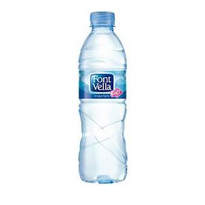 Pack de 24 garrafas de água Font Vella - 0,50 cl