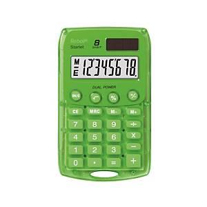 Vrecková kalkulačka Rebell Starlet, zelená