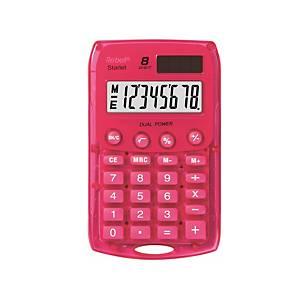 Vrecková kalkulačka Rebell Starlet, ružová