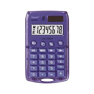 Kapesní kalkulačka Rebell Starlet, Fialová