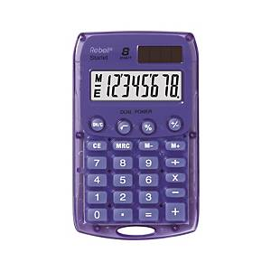 Vrecková kalkulačka Rebell Starlet, fialová