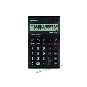 Stolní kalkulačka Sharp EL-124T, 12místný LCD displej