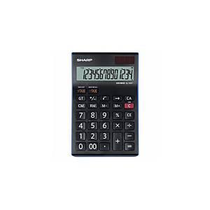 Stolová kalkulačka Sharp EL-145T, 14-miestny LCD displej