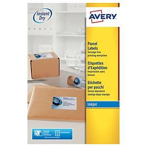Etichette per indirizzi/pacchi Avery J8168 l199,6 x h143,5 mm bianco - conf. 50