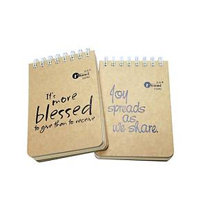 Ukami Shorthand Wired Lined A7 Notebook