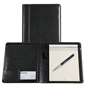 Brepols Palermo writing pad + notepad A5 black