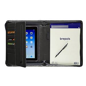 Brepols Palermo organiser luxe tablet notepad + zipper + blocnote A4