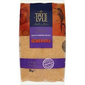 Tate & Lyle 96892 Demerara Sugar Bag 3Kg