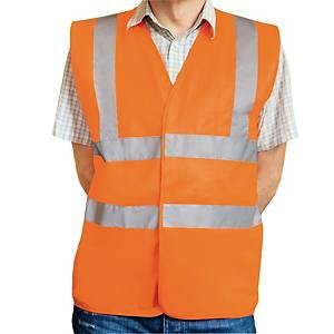 Warnschutzweste Eskon Klasse 2,Grösse XXL, orange