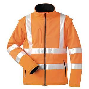 Warnschutz-Softshelljacke elysee TYLER 22701, orange, Gr. XL