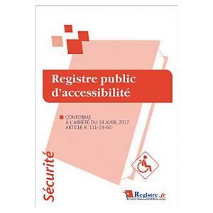 Registre public d accessibilité