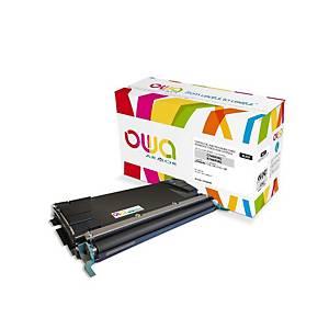 Cartouche de toner Owa compatible équivalent lexmark C748H1KG - noire