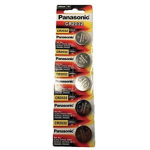 PANASONIC Pk5 Cr2032 Lithium Battery 3 Volt