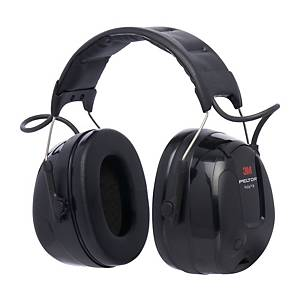 3M Peltor Protac III active earmuff - SNR 32dB - Black