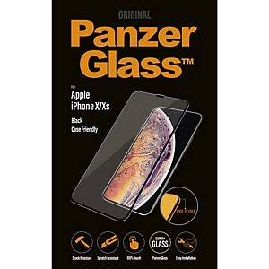 Displayschutz Panzerglass, iPhone X/XS, schwarz