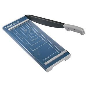 Cisaille à levier Dahle 502, A4, bleu