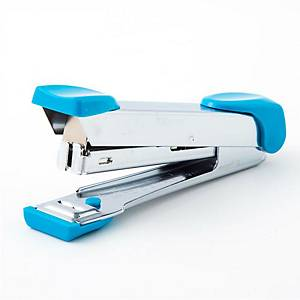 MAX HD-10 HALF-STRIP STAPLER METAL LIGHT BLUE