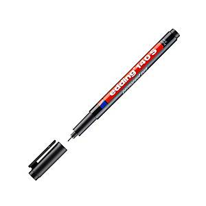 EDDING ปากกาเขียนแผ่นใสลบไม่ได้ 140S 0.3มม. ดำ