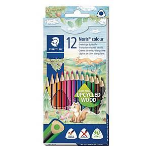 Farveblyanter STAEDTLER Noris colour, pakke a 12 farver