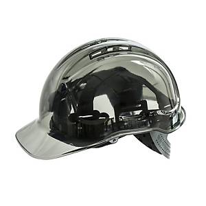Casque de sécurité transparent Portwest Peak View PV54, gris